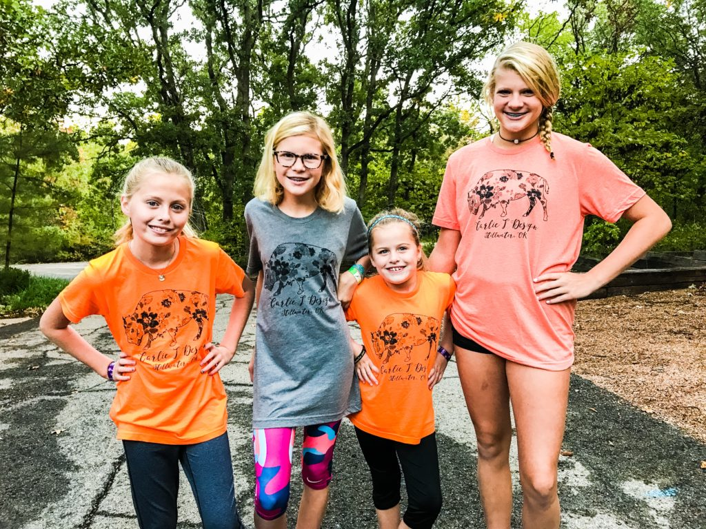 Nieces' rocking the Carlie J Design Buffalo tee! (PC: mitchharrison.com)