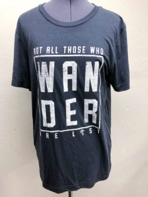 Not All Those Who Wander Are Lost | Modern