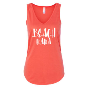 Beach Mama | Ladies V-Neck Tank