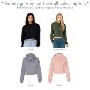 Girl Boss | Ladies Cropped Hoodie