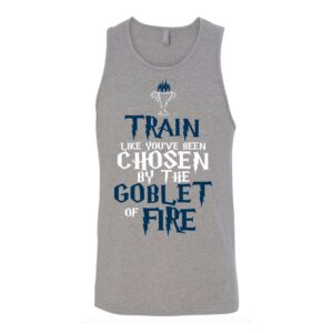 Train like you've been chosen by the Goblet of Fire | Unisex Tank