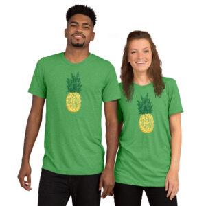 Pineapple | Unisex Tri-blend Tee