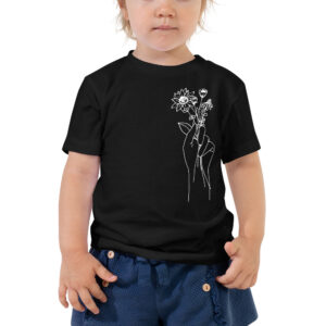 Hand Holding Wildflowers | Toddler Tee