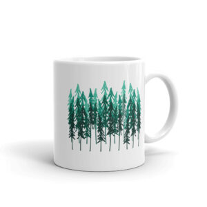 Simple Drawn Forest | Mug