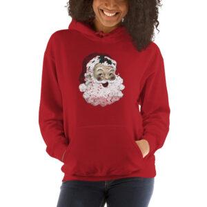 Vintage Santa | Hooded Sweatshirt