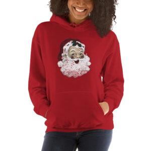 Vintage Santa | Hooded Sweatshirt