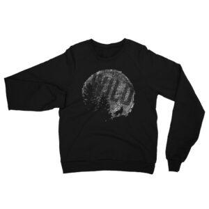 Moon Tree Wild | Unisex Raglan Sweatshirt | American Apparel