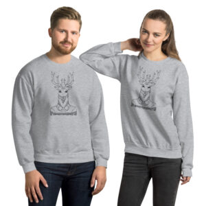 Dapper Deer | Unisex Sweatshirt