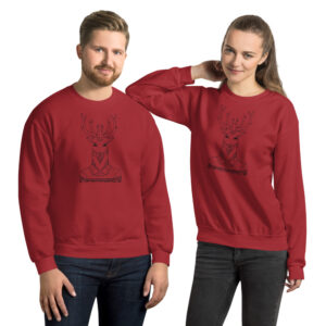 Dapper Deer | Unisex Sweatshirt