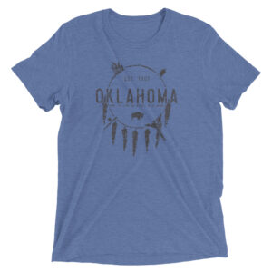 Grand Land Oklahoma | Unisex Tri-blend Tee