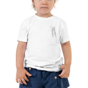 Flower Self Growth | Cultivate Love | Toddler Tee