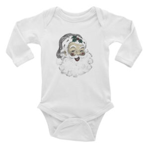 Vintage Santa | Infant Long Sleeve Bodysuit