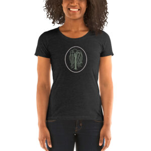 Carlie J Design Willow Circle | Ladies' Try-blend Tee