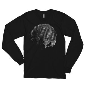 Moon Tree Wild | Unisex Long Sleeve Tee | American Apparel