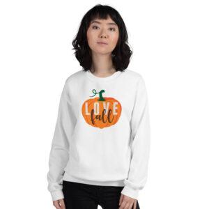 Love Fall Pumpkin | Unisex Sweatshirt