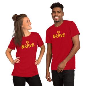 Brave | Lion | Unisex Tee