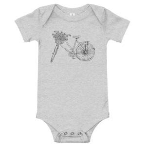 Flower Bike | Infant Bodysuit