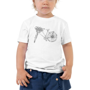 Flower Bike | Toddler Tee