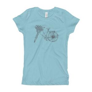 Flower Bike | Youth/Toddler Girl's Tee