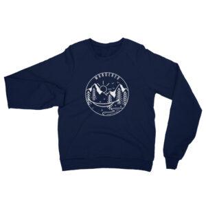 Wanderer | Unisex Fleece Raglan Sweatshirt
