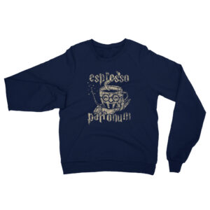 Espresso Patronum | Unisex Raglan Sweatshirt | American Apparel