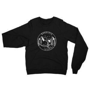 Wanderer | Unisex Fleece Raglan Sweatshirt | American Apparel