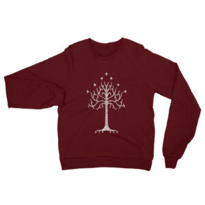 The White Tree | Unisex Raglan Sweatshirt