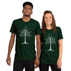 The White Tree | Unisex Tri-blend Tee