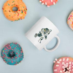 Floral Sasquatch | Mug