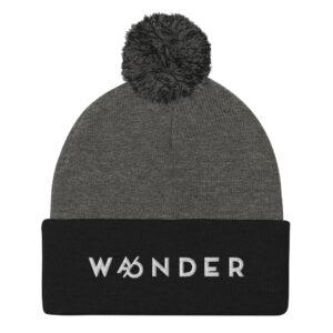 WA/ONDER | Wander | Wonder | Pom-Pom Beanie