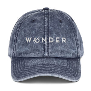 WANDER | Wander | Wonder | Vintage Cotton Twill Cap
