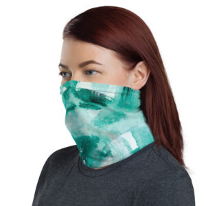 Green Painted | Face Mask | Neck Gaiter
