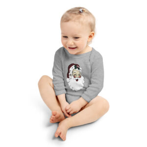 Vintage Santa | Infant Long Sleeve Bodysuit