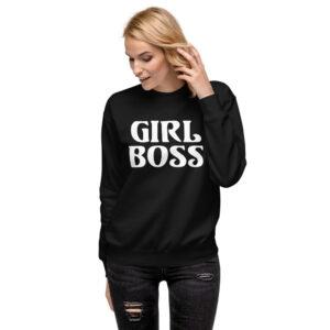 Girl Boss | Unisex Fleece Pullover