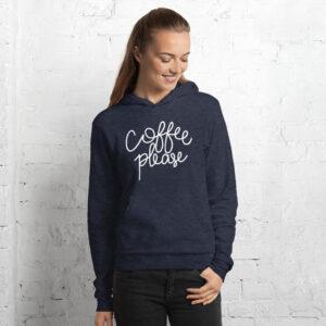 Coffee Please | Unisex Hoodie | Bella Canvas