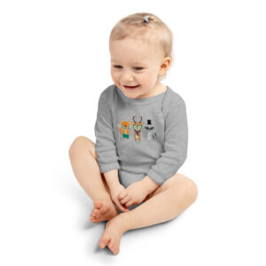 Dapper Forest Animals | Infant Long Sleeve Bodysuit