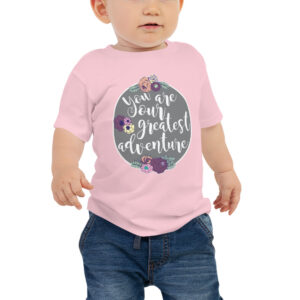 You Are Our Greatest Adventure | Infant Jersey Tee