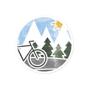 Mountain Bike | Bubble-free Stickers