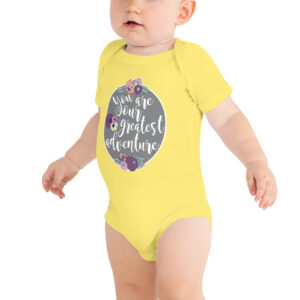 You Are Our Greatest Adventure | Infant Bodysuit