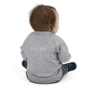 Little Bird | Embroidery | Infant Organic Bomber Jacket