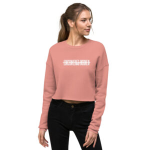 Empowered Women Empowering Women | Crop Sweatshirt