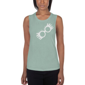 You're Just As Sane As I Am | Ladies' Muscle Tank