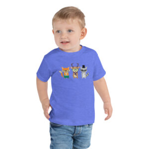 Dapper Forest Animals | Toddler Tee