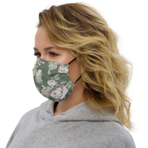 Floral | Premium face mask