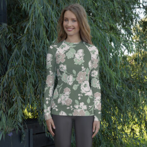 Floral | Ladies' Rash Guard