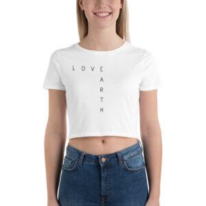 Love Earth | Ladies Crop Tee