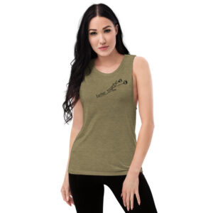 Better Together | Flower | Ladies' Muscle Tank