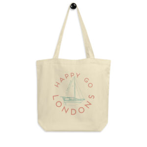 Happy Go Londons | Sailing Vessel Valinor | Eco Tote Bag