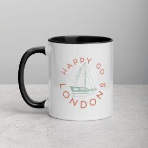 Happy Go Londons | Sailing Vessel Valinor | Mug with Color Inside